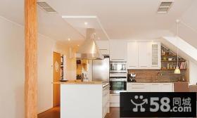 56万打造现代别复式厨房修样板间效果图