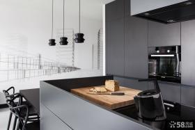 现代简约厨房设计家具