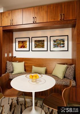现代简约小餐厅设计效果图