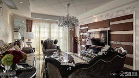 新古典客厅室内装潢设计效果图
