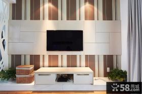 现代时尚高端客厅背景墙设计