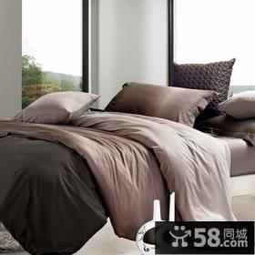 别墅卧室床装饰图片