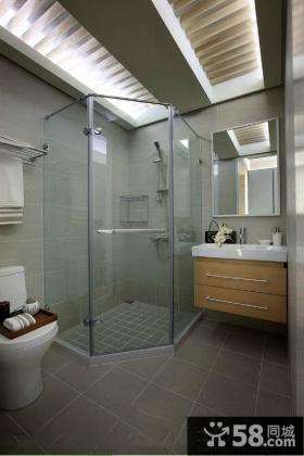 优质简约风格浴室卫生间装修图片欣赏