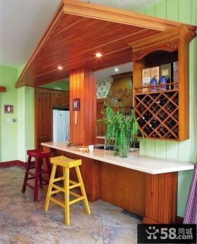 诺仁庄园复式楼厨房装修效果图大全2014图片