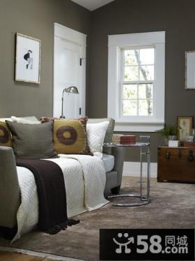 素雅宜人的小户型客厅装修效果图大全2014图片