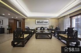 客厅中式古典家具图片
