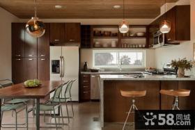 90平米房屋厨房装修效果图