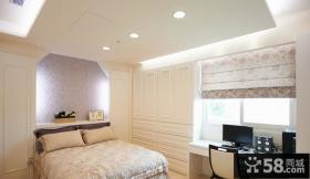 欧式简约风格卧室装修效果图