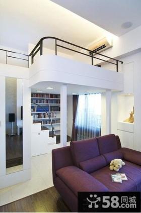 复式楼室内装潢设计效果图