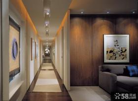 新古典风格室内过道吊顶图片