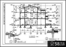 三层萨伏伊别墅平面图