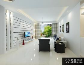 2013优质现代客厅电视背景墙设计图
