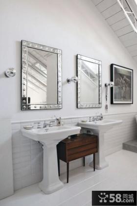 小复式简欧风格客厅装修效果图大全2014图片