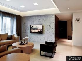 现代简约风格客厅家居设计装修效果图