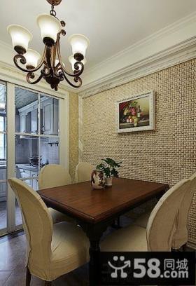餐厅背景墙装饰画效果图片