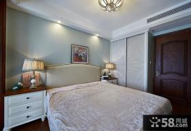 田园风光美式装修卧室设计