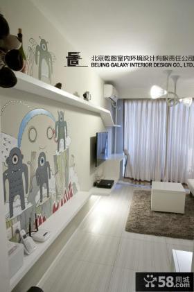现代小户型家装设计效果图片