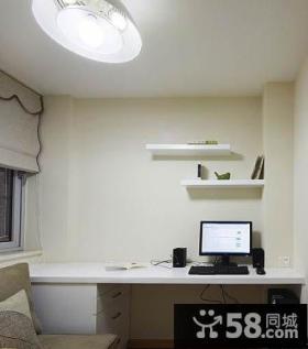 清爽小清新家庭办公室设计