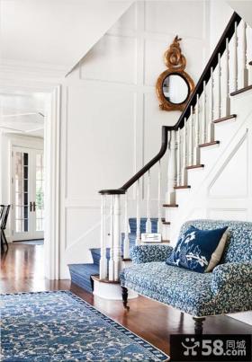 欧式风格过道楼梯装饰图片