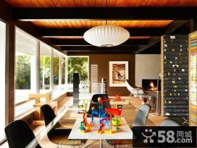 三室两厅后现代风创意客厅电视背景墙装修效果图大全2014图片