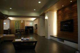 中式简约风格装修三居室设计