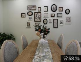 简美照片墙设计装饰