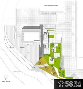 别墅景观设计平面图片