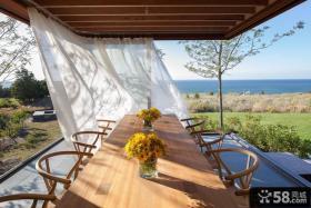家装阳台餐厅设计效果图