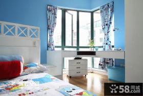 小户型现代简约风格儿童房装修效果图大全2014图片