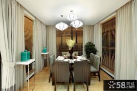 时尚新中式家装客厅设计