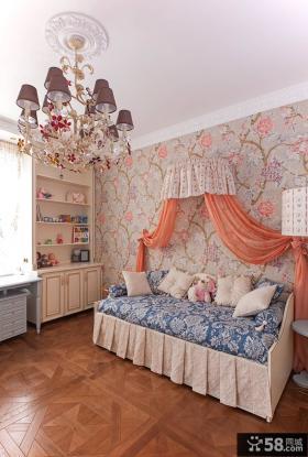 家装女孩儿童房间装潢案例