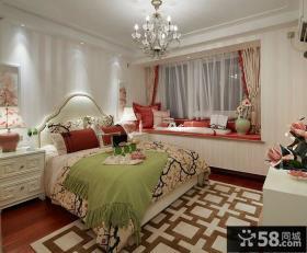 欧式卧室飘窗设计效果图欣赏