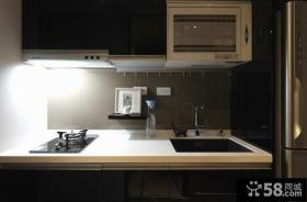 日式公寓小厨房装修图片