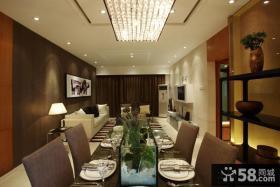 家装西餐厅装修设计效果图