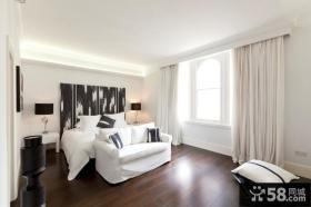 时尚极简主义风格卧室设计图片