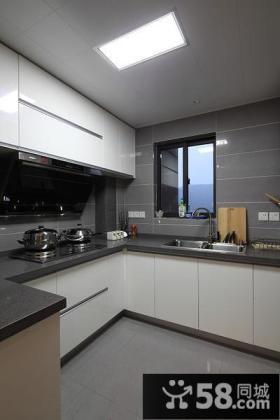 现代简约U型厨房设计大全