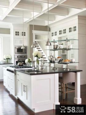 家庭设计宜家复式厨房效果图大全