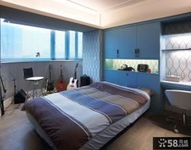 时尚现代卧室家装设计效果图