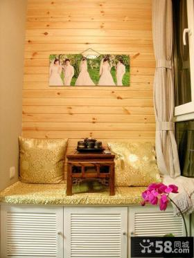 美式客厅电视背景墙装修欣赏