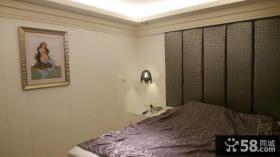 装修设计室内卧室床头软包背景墙图欣赏