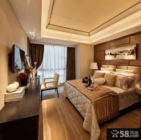 现代风格家居主卧室装修设计图片欣赏