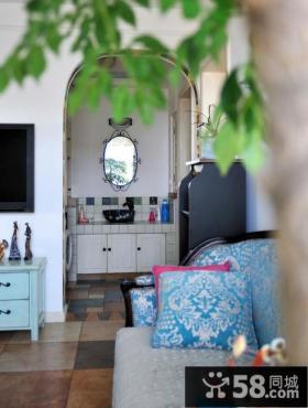 地中海风格家居沙发抱枕图片欣赏