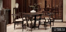 古典雅致中式居家餐厅装修