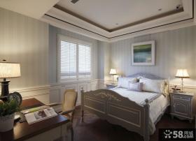 简约欧式风格家装卧室设计效果图