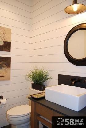欧式田园风格客厅装修图片