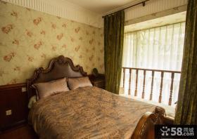 欧式风格卧室壁纸装修效果图大全