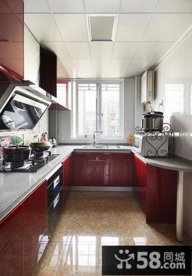 现代家装厨房集成吊顶装修效果图