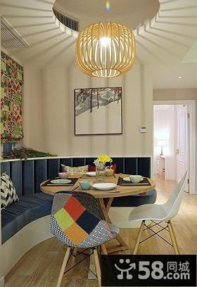 混搭式宜家风格餐厅设计
