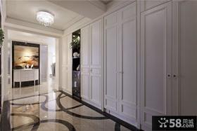 欧式风格别墅过道装饰设计效果图