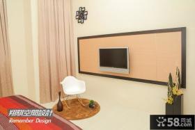 简易装修室内电视背景墙图片欣赏